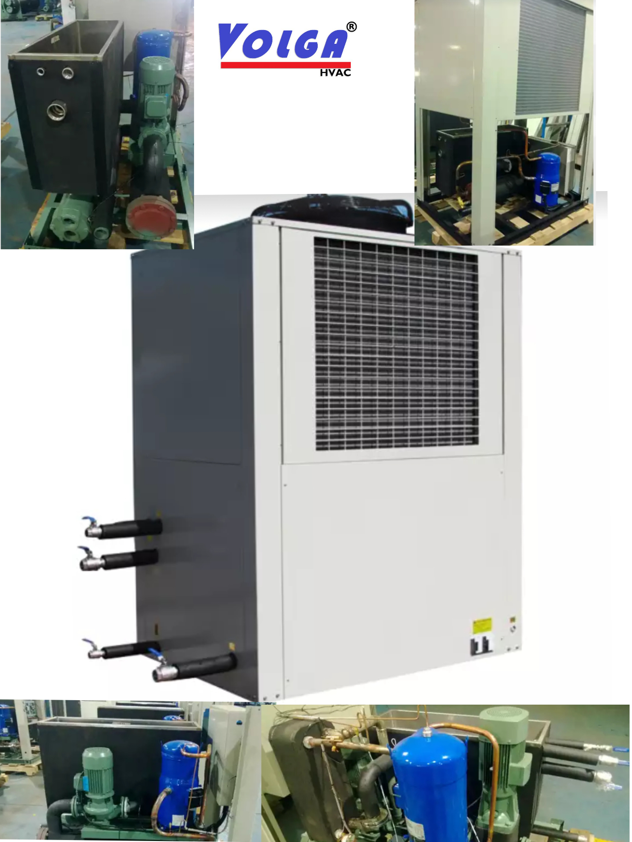 Industrial Water Chiller Air Cooled Chiller