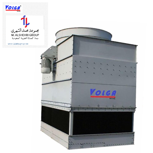 Closed Circuit Cooling Tower, Metal Body.